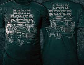 #209 untuk T-Shirt Land Rover Defender 90 design oleh mstmurshida
