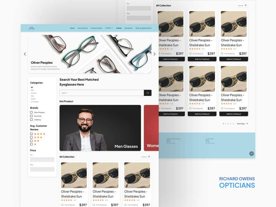 Konkurrenceindlæg #                                        41                                      for                                         Design an online shopping page for my website