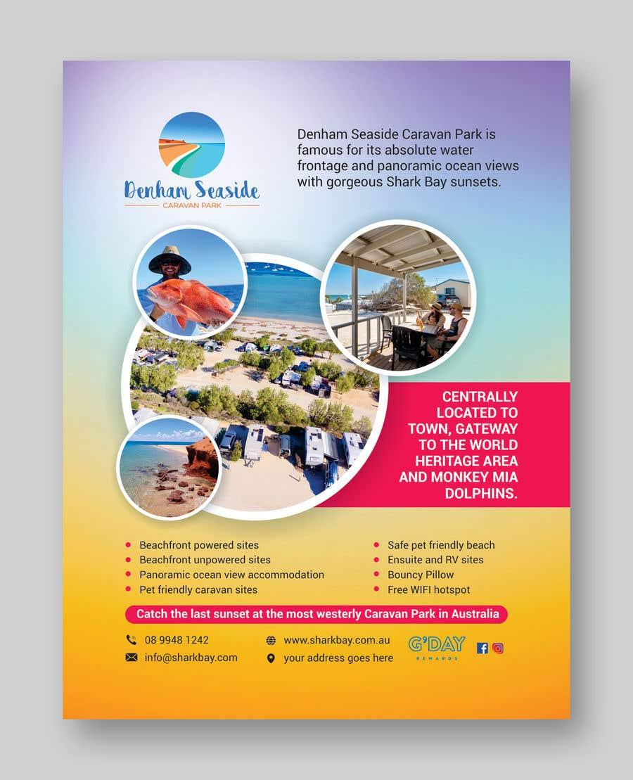 Bài tham dự cuộc thi #                                        40                                      cho                                         Design a Magazine Advertisement for Denham Seaside Caravan Park - 16/06/2021 02:48 EDT