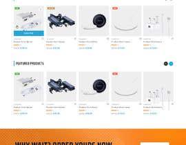 Nro 41 kilpailuun Ecommerce website design mock-up käyttäjältä adthedesigner