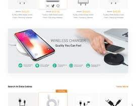 Nro 14 kilpailuun Ecommerce website design mock-up käyttäjältä PranavSandilya
