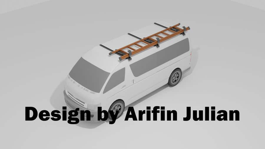 Proposition n°                                        3                                      du concours                                         Design a custom roof-rack attachment for a ladder