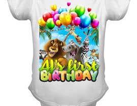 Nro 86 kilpailuun Tshirt design kids party käyttäjältä toriqkhan