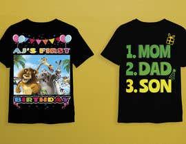 Nro 76 kilpailuun Tshirt design kids party käyttäjältä mhdhasan1