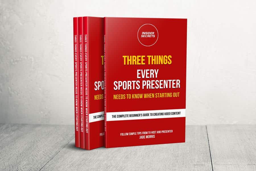 Kilpailutyö #                                        61                                      kilpailussa                                         Design Cover for Slim Book - Free guide for beginner sports presenters