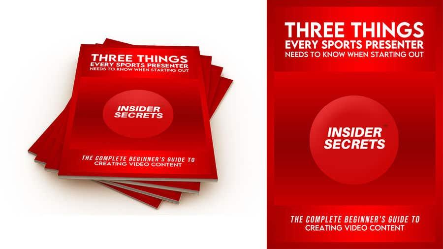 Kilpailutyö #                                        55                                      kilpailussa                                         Design Cover for Slim Book - Free guide for beginner sports presenters