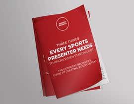 Nro 32 kilpailuun Design Cover for Slim Book - Free guide for beginner sports presenters käyttäjältä ajitsen70441