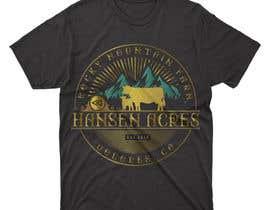 Nro 431 kilpailuun Design a Western T-Shirt with our Cattle Brand käyttäjältä mustjabf