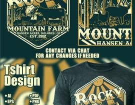 Nro 361 kilpailuun Design a Western T-Shirt with our Cattle Brand käyttäjältä Maxbah