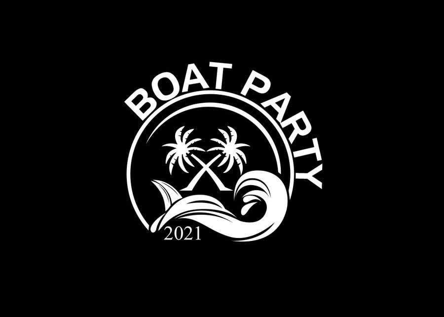 Kilpailutyö #                                        168                                      kilpailussa                                         BoatParty X Logo Design