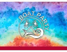 Nro 208 kilpailuun BoatParty X Logo Design käyttäjältä KleanArt