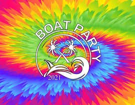Nro 209 kilpailuun BoatParty X Logo Design käyttäjältä KleanArt