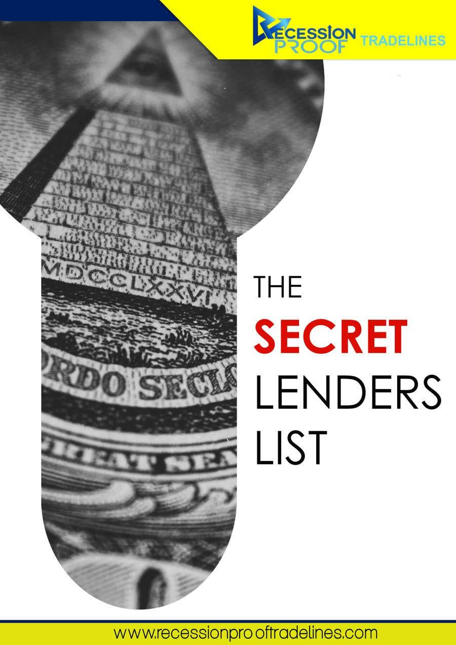 Penyertaan Peraduan #                                        16                                      untuk                                         Build me a Secret Lenders List