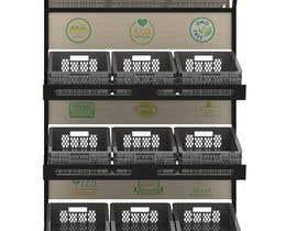 #13 para Stages 3 : Crowdsource / Designing a display rack for fruit and vegetable por rmokadwij