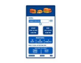 Nro 24 kilpailuun iPhone App Screen Design for GoalPrize Dashboard: UI UX design käyttäjältä MBEST123