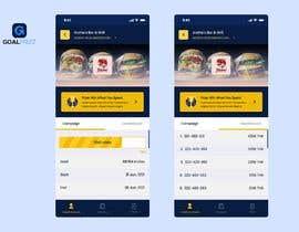 Nro 9 kilpailuun iPhone App Screen Design for GoalPrize Dashboard: UI UX design käyttäjältä serwar