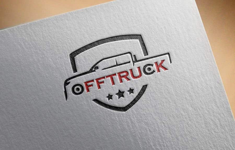 Kilpailutyö #                                        119                                      kilpailussa                                         New logo for OFFTRUCK