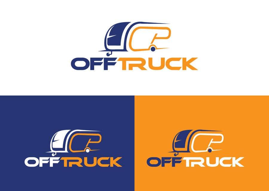 Kilpailutyö #                                        54                                      kilpailussa                                         New logo for OFFTRUCK