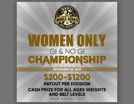 Nro 62 kilpailuun Women's Jiu-Jitsu Event Flyer Virginia and Maryland käyttäjältä printexpertbd