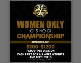 Nro 64 kilpailuun Women's Jiu-Jitsu Event Flyer Virginia and Maryland käyttäjältä printexpertbd