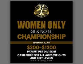 Nro 66 kilpailuun Women's Jiu-Jitsu Event Flyer Virginia and Maryland käyttäjältä printexpertbd
