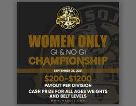 Nro 68 kilpailuun Women's Jiu-Jitsu Event Flyer Virginia and Maryland käyttäjältä printexpertbd