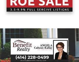 #92 for Real Estate Sign Panel Design by becretive