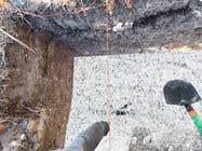 Photoshop Kilpailutyö #25 kilpailuun chalk at base of dug footings