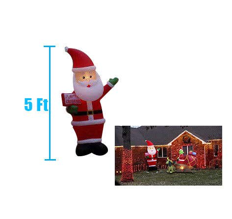 Bài tham dự cuộc thi #                                        29                                      cho                                         Blow Up Inflatable Outdoor Christmas Santa Claus and the Grinch