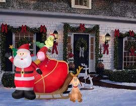 #27 for Blow Up Inflatable Outdoor Christmas Santa Claus and the Grinch by vaishnasubram