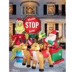 Blow Up Inflatable Outdoor Christmas Santa Claus and the Grinch için Graphic Design13 No.lu Yarışma Girdisi
