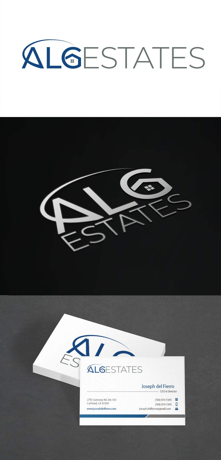 Конкурсная заявка №                                        165                                      для                                         Creat a logo incorporating my business name ALG Estates