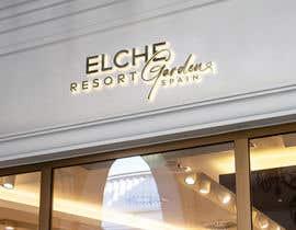 Nro 222 kilpailuun Logo para Elche Garden Resort käyttäjältä nilufab1985