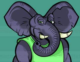 #15 for Make a elephant avatar NFT based on the examples provided by ramjeevacartoons