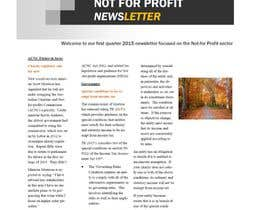 #11 for Design a Newsletter for an Audit firm af kvd05