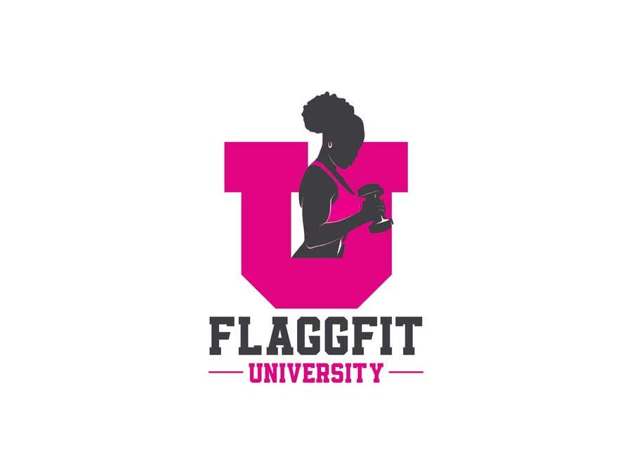 Конкурсная заявка №                                        194                                      для                                         Flaggfit University Logo