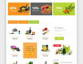 #27 for Design a Website Mockup for Natural Products E-Commerce Site by syrwebdevelopmen