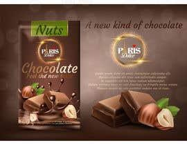 Nro 95 kilpailuun Create a logo for a chocolate mousse manufacturer käyttäjältä ridwanulhaque11