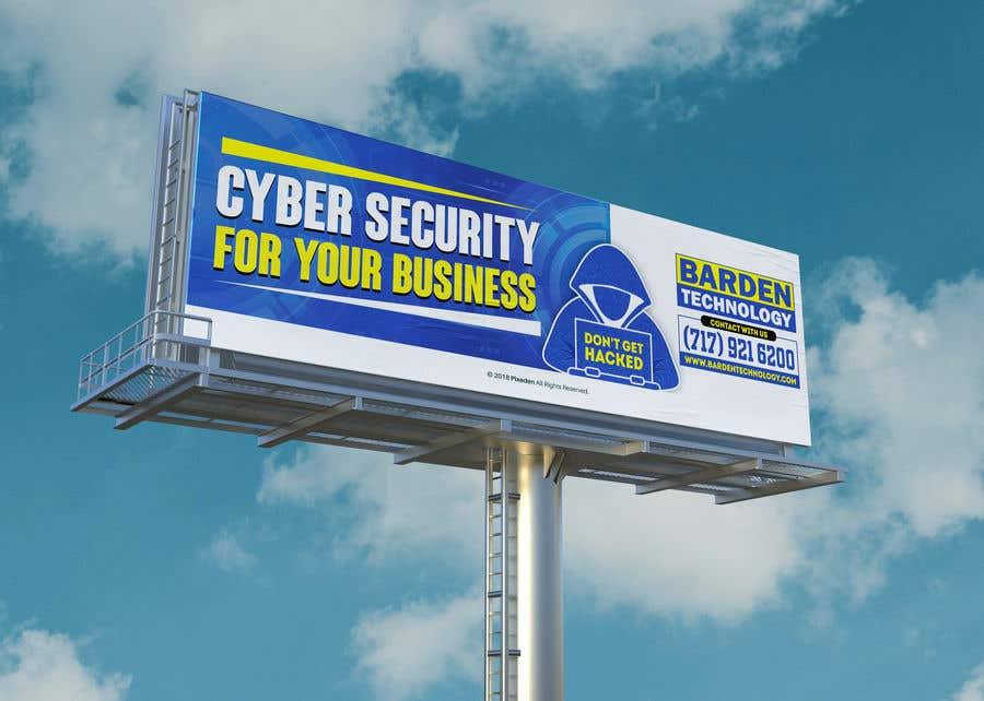 Конкурсная заявка №                                        131                                      для                                         Billboard design for cyber security firm