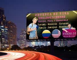 #250 untuk Billboards for USA Travel Visa Business oleh EmperorGeek
