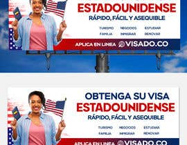 #251 untuk Billboards for USA Travel Visa Business oleh Julfikarsohan