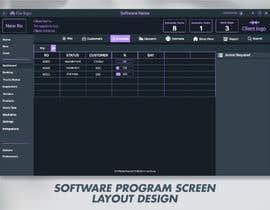 #11 untuk Software program screen layout oleh glittergraphics