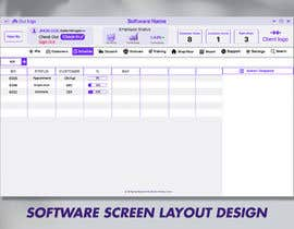 #21 untuk Software program screen layout oleh glittergraphics
