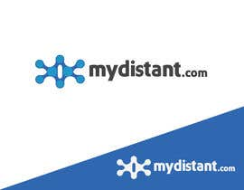 Nro 79 kilpailuun Design a Logo for  mydistant.com käyttäjältä ziarahmanZR
