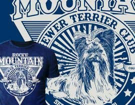 #398 para Design a Event T-Shirt for Dog Club por Maxbah