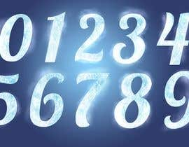 lbdesignok tarafından Need an artist to draw numbers from 0 to 9 in different themes and styles için no 72