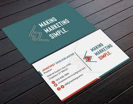#266 for 2-Sided business card design NVW by Shuvo4094