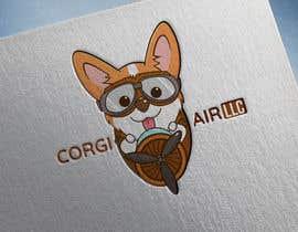 #291 для Need a Line Art Logo for Corgi Air от Terremoto1986