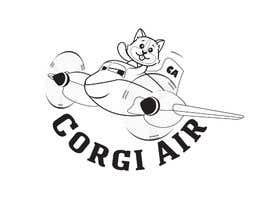 #338 для Need a Line Art Logo for Corgi Air от sattarrahmani