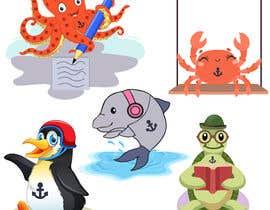 fkfiroj777 tarafından Create cartoon characters which I'll use as mascot icons on my website and promotional material için no 77